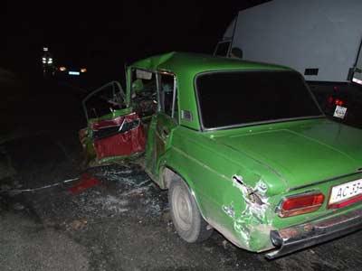 Ровно, авария, ВАЗ-2103