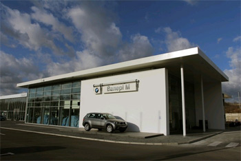 Новий дилерський центр BMW в місті Рівне