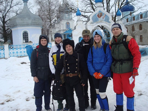 Екстремальні туристичні змагання Доброволець 2012